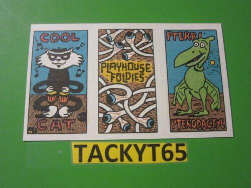 S HERMAN PLAYHOUSE ACTIVITY FOLDIES CARD PEE WEE'S YOU CHOOSE