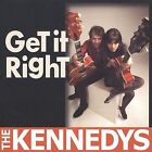 Get It Right by The Kennedys (CD, Jun-2002, Jiffy Jam Records)