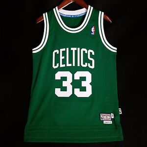 100-Authentic-Larry-Legend-Adidas-Soul-Swingman-Celtics-Jersey-Size-S-40-bird