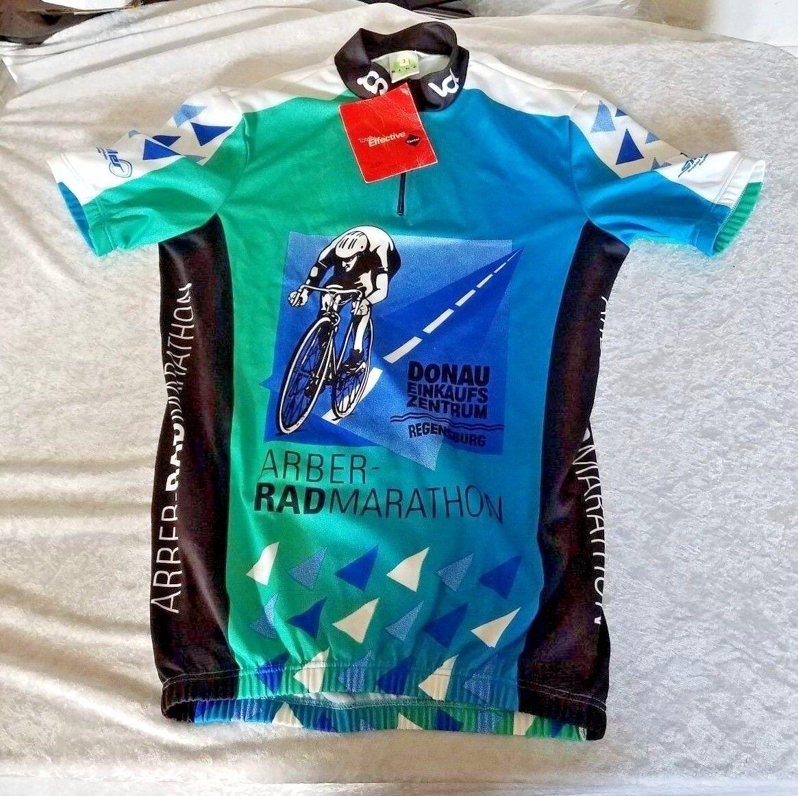 Cycling  Bicycling Jersey NWT DonauEinkaufs Zentrum Regensburg Arbor Rad Marathon  first time reply