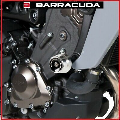KIT COPPIA TAMPONI SLIDER PARATELAIO BARRACUDA YAMAHA MT-07 MT 07 TRACER