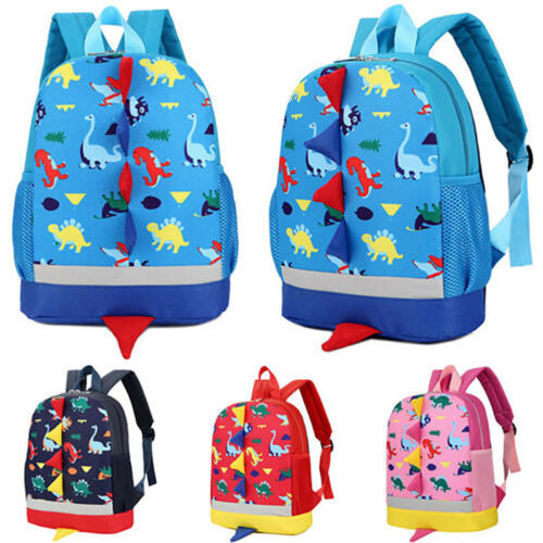 Kids Children Cute Cartoon Preschool Backpack Kindergarten Rucksack School Bags