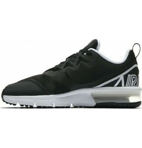 Nike-Air-Max-Womens-Shoes-UK-Size-5-Fury-Trainers-Black-White
