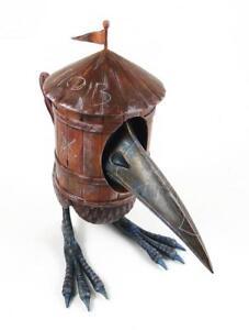 Hob Bird - Figurine en vinyle rouge Edition par Kmndz X 3d rétro 611830944923