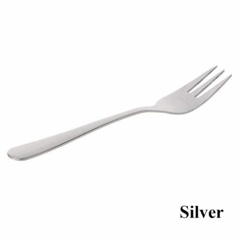 Multi-color Flatware Tableware Fruit Mini Cutlery Dessert Fork Stainless Steel