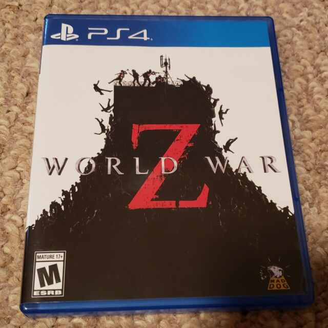 World War Z Sony Playstation4 PS4 (USED) Video game