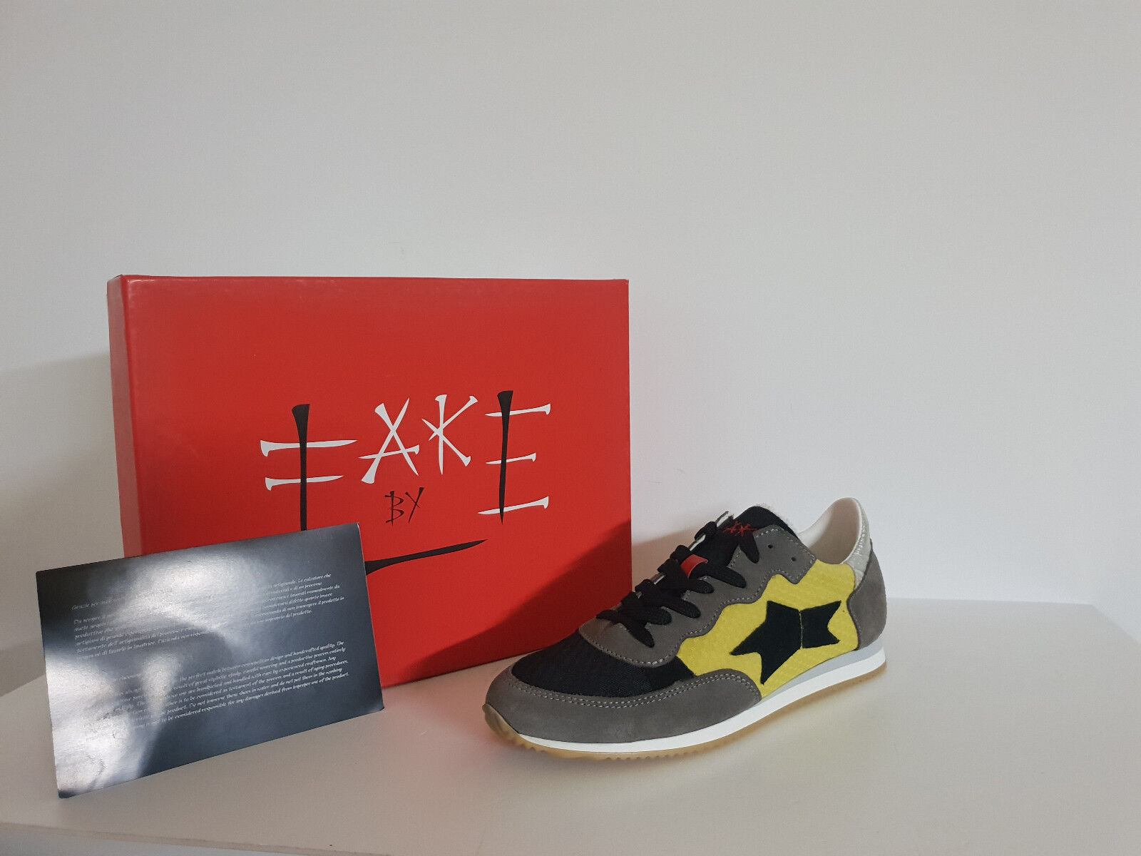 Sneakers Damenschuhe Ishikawa By Fake Sconto - 40 % Art. Running 082 Col. Giallo