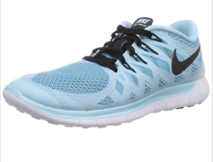 more photos f45ee 82d3c Image is loading Nike-Womens-Free-5-0-Ice-Cube-Blue-