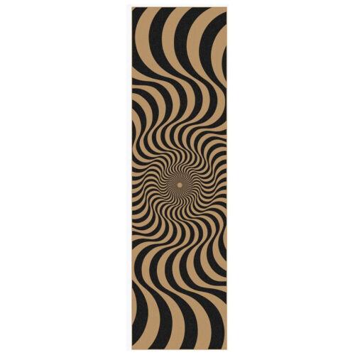 """Spitfire Wheels Skateboard Griptape Swirl Clear Drop Out Sheet 9/"""" x 33/"""""""
