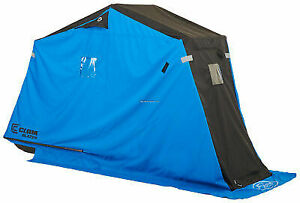 Clam Outdoors 10129 Blazer - Lightweight 1 Man Ice Fishing Shelter