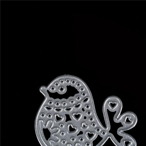 1pc bird metal cutting dies stencil scrapbook album paper embossing craft vK Pp