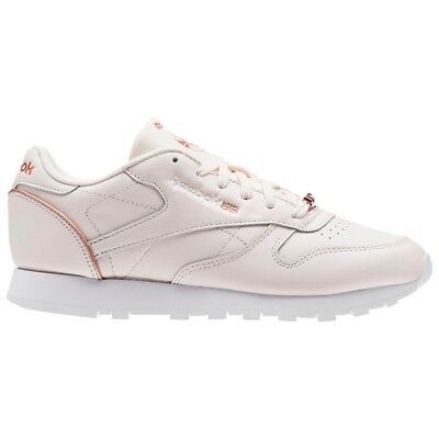 66aae9a645b Reebok Classic Leather Hw (PALE PINK ROSE GOLD WHITE) Women s Shoes BS9880