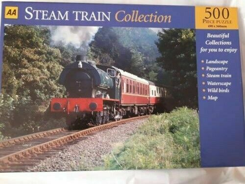 500 Piece Jigsaw Puzzle Steam Train for