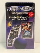 Yu Yu Hakusho TCG Starter Deck + 8 Ghost Files & 7 Dark Tournament Booster Packs