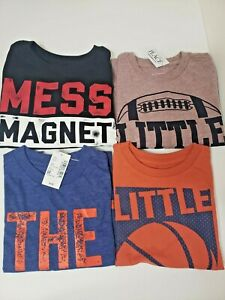 Lot-Of-4-The-Children-039-s-Place-TCP-3T-Toddler-Boys-Shirts-Long-Sleeve-NEW