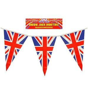 10M ROYAL WEDDING HARRY MEGHAN UNION JACK TRIANGLE BUNTING FLAGS BRITISH GB UK