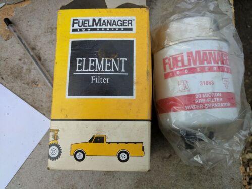 Wasserabscheider Filter 31863 Fuel Manager Brennstoff