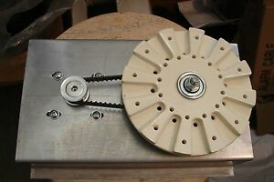 CNC-Rotary-Turntable-with-Stepper-Motor-drive-with-rotational-stage