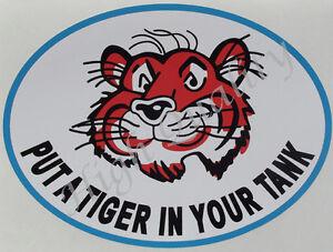 ESSO PUT A TIGER IN YOUR TANK DECAL STICKER. Y005   eBay
