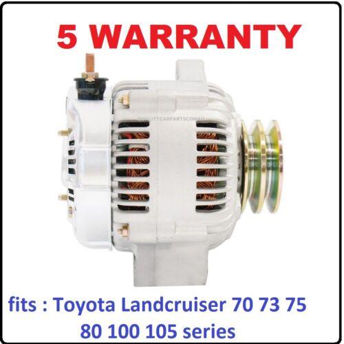 1HZ 4.2L Diesel 90-98 Alternator for Toyota Landcruiser HZJ80 eng