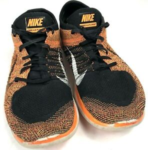 huge selection of 097a1 449e0 Image is loading NIKE-FREE-4-0-FLYKNIT-Running-Shoes-Black-