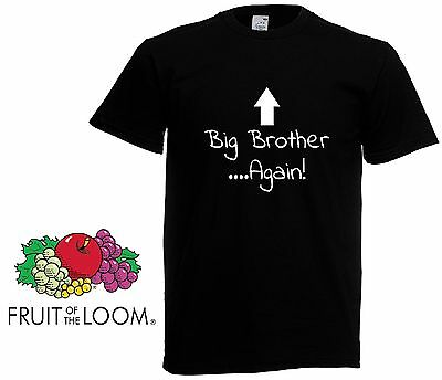 Big Brother ..Again! -  Big Brother Gift Boys Kids Funny sister funny T shirt