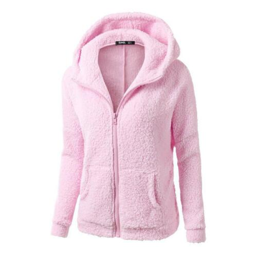 Thick Coat Sweater Women Hoodies Outerwear Sweatshirts Long Sleeve Zipper Jacket