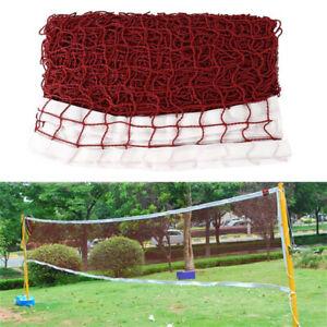 Badmintonnetz federballnetz 6.2 m volleyballnetz federballnetz réseau de téléphonie mobile NEUF