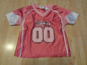 Hot InfantBaby Girls Miami Dolphins #00 18 Mo Jersey (Pink) NFL Team  for sale