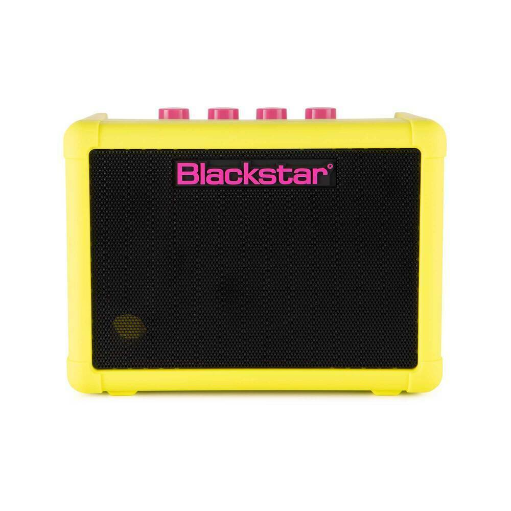 Blackstar FLY 3 Neon Yellow Mini Guitar Amplifier Combo
