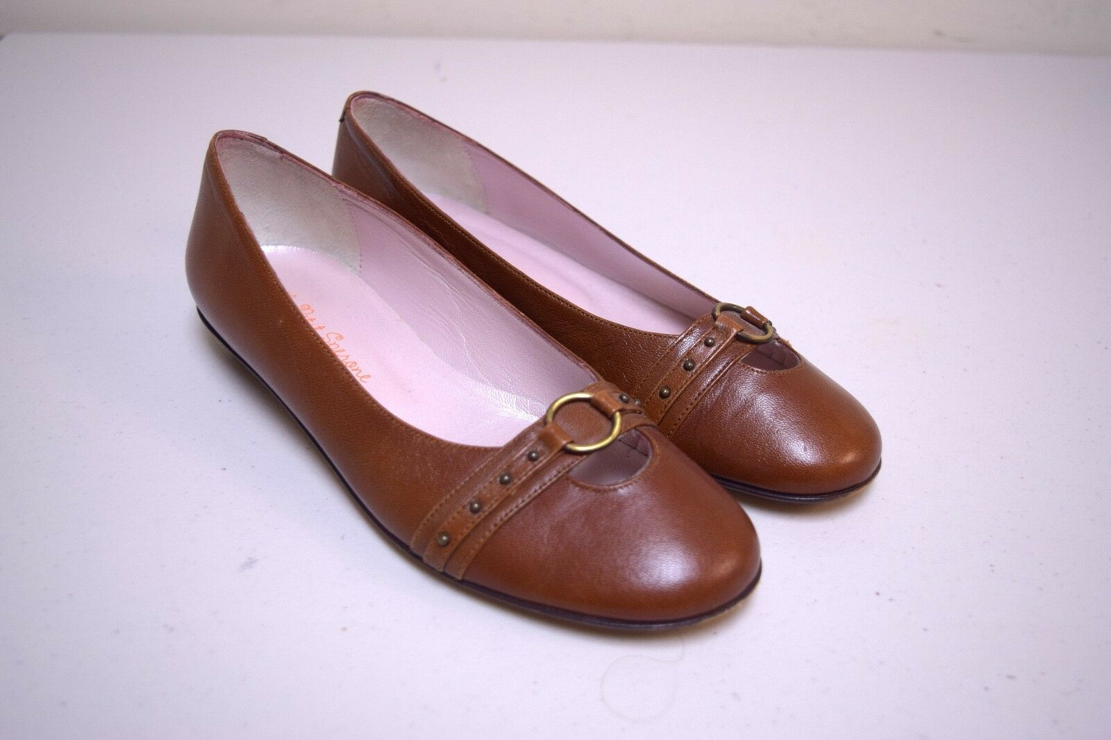 Le petit Sperone sacages marron écumeur Ballerines made in portugal taille 37 m