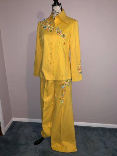 Vintage 1970's Beaded Pantsuit *mint*