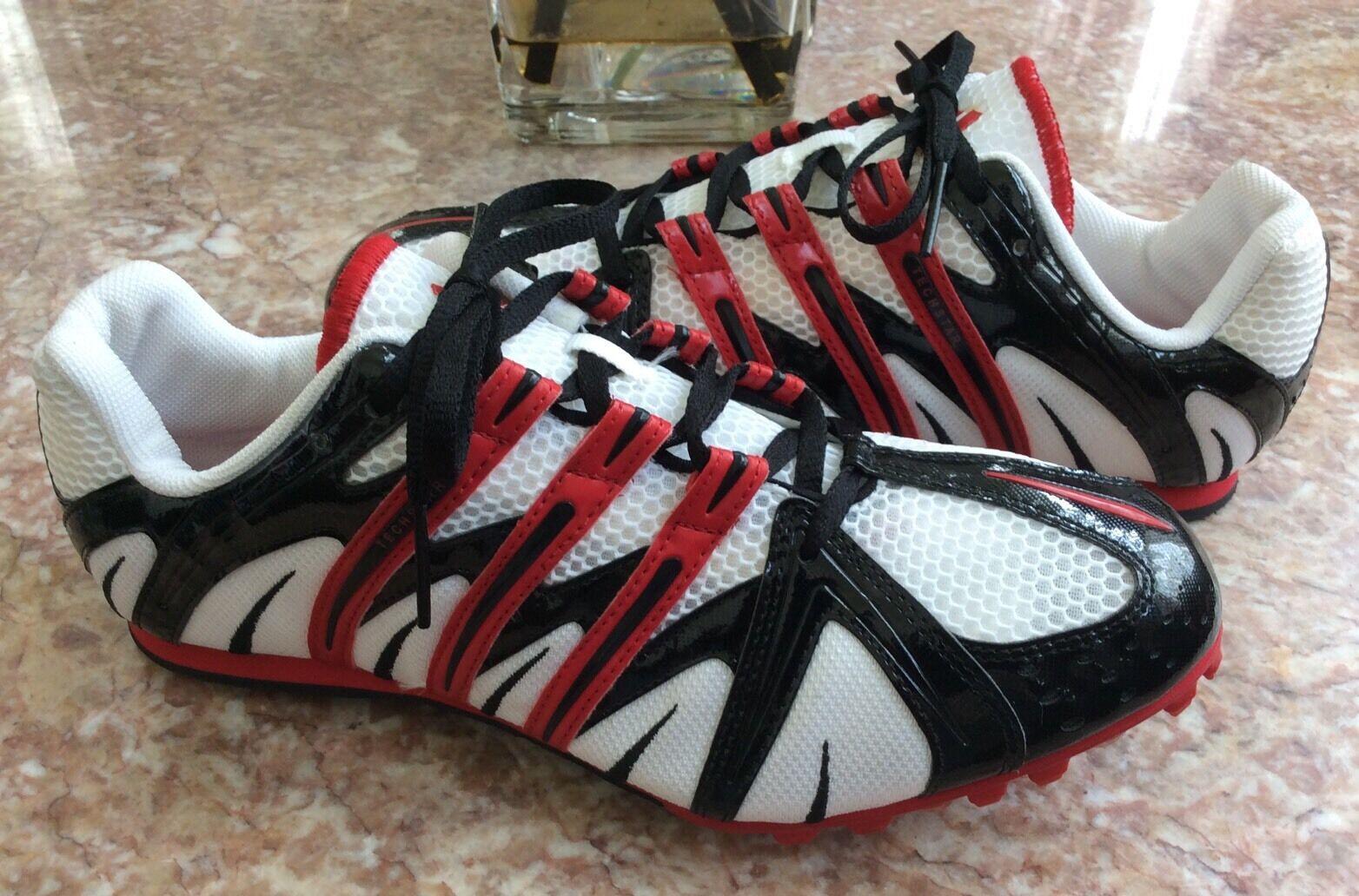Nuove scarpe adidas techstar sprint traccia spuntoni uomini scarpe Nuove taglia 9,5 ostacoli racing 14b1f7
