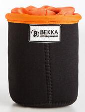 BEKKA Pro Objektivköcher aus Neopren Größe S - Köcher Objektiv Tasche Lens Bag