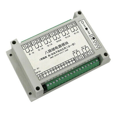 MagiDeal 8-Channel H//L Level Relay Module with Optocoupler Triger 3//5//12//24V