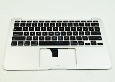 "Used Top Case Palm Rest w/ US Keyboard for MacBook Air 11"" A1465 2013 2014 2015"