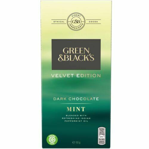 Green Blacks Dark Chocolate Bar Mint 70 Cocoa 90g X 18 For Sale Online Ebay