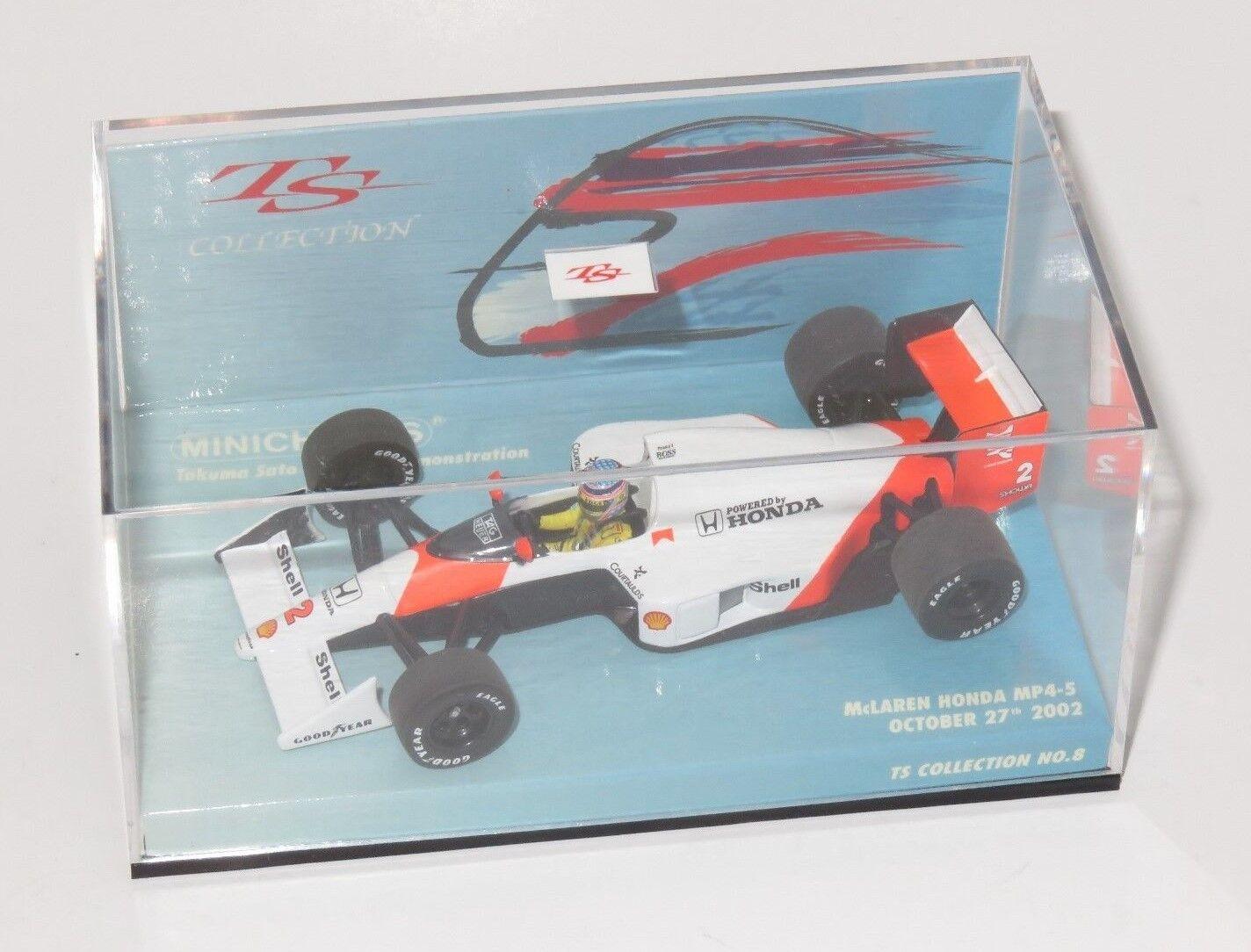 1 43 McLaren Honda MP4-5  Motegi Demonstration Laps 2002  Takuma Sato Collection