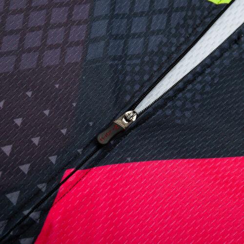 Miloto Men/'s Cycling Bib Shorts and Jersey Kit Padded Bike Clothing Short Set