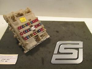 03 nissan sentra fuse box 2002    nissan       sentra    dash    fuse       box    with relays 24350 5m00 ebay  2002    nissan       sentra    dash    fuse       box    with relays 24350 5m00 ebay