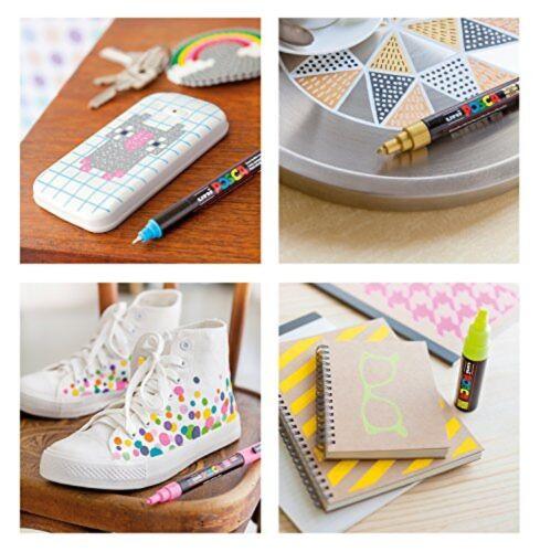 Uni-posca Pc8k8c Paint Marker Pen Bold Point Set of 8 japan import