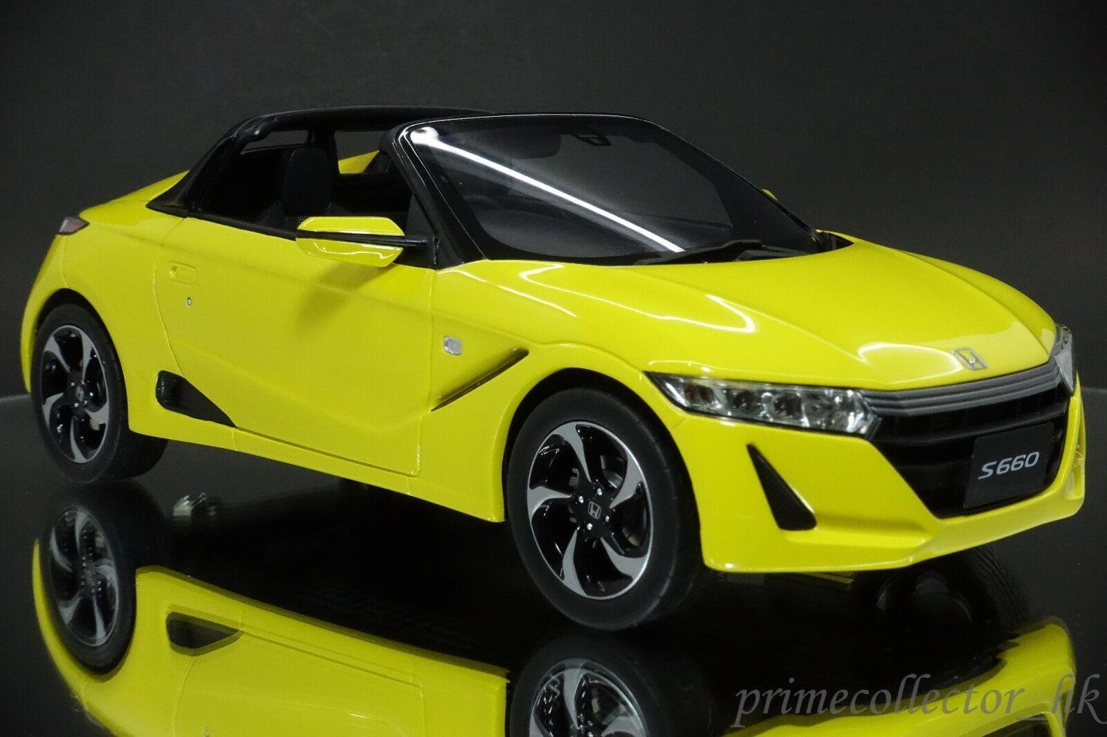 Nuevos productos de artículos novedosos. Samurai 1 18 Honda S660 α blancoo KSR18016Y KSR18016Y KSR18016Y  Garantía 100% de ajuste