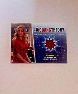 Big-Bang-Theory-Season-5-Penny-Wardrobe-Costume-Card-M12-Kaley-Cuoco