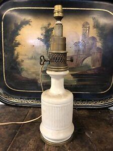 Gagneau Paris Lampe à Pétrole Oil Lamp Ancien Napoléon III XIXeme Huile