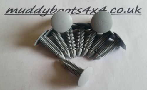 Land Rover Defender Head Lining Roof Trim Clips Fasteners pack of 20      90 110