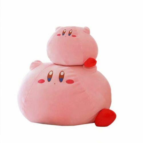 JUMBO Kirby Adventure Sleeping Kirby Plush Toy Super Soft Cushion Pillow RARE