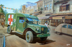 Ambulance 4x4 Roden 1/35 Dodge M43 3/4 tonne # 811