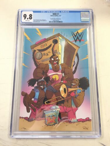 WWE  #1 CGC 9.8 JJUFS The New Day Variant Cover