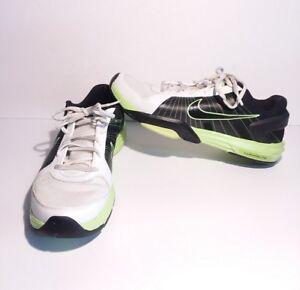 Nike Lunar Kayoss 386481 005 Size 10 Black White Green Lunarlite