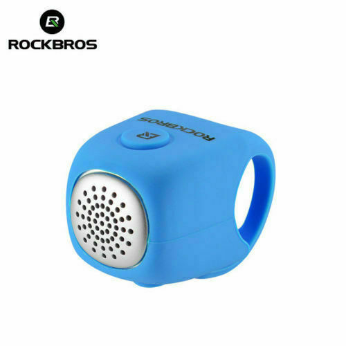 ROCKBROS Cycling Electric Horn Rainproof MTB Bicycle Handlebar Bell 3 Ringtones